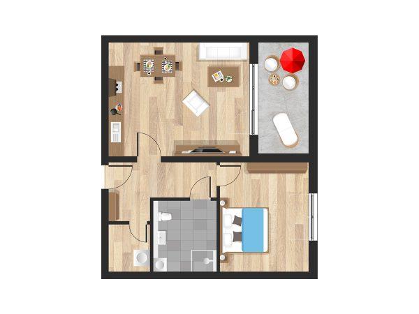 Wohnung in Straubing W08