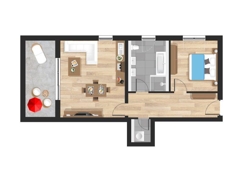Wohnung in Straubing W06