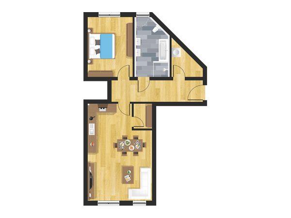 Wohnung in Straubing W02