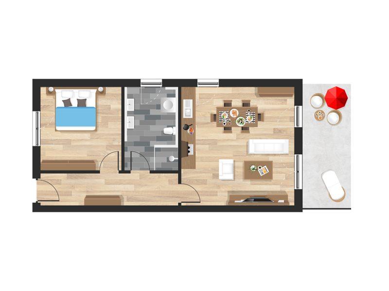 Wohnung in Straubing W03
