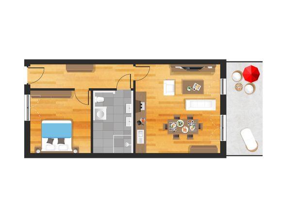Wohnung in Straubing W05