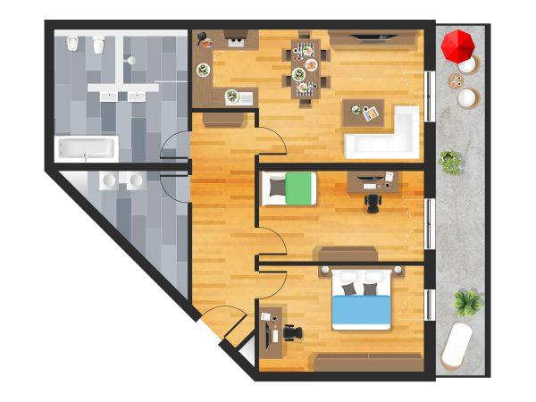 Wohnung in Straubing W10