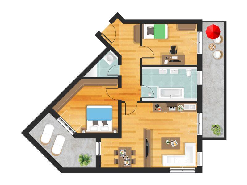Wohnung in Straubing W17