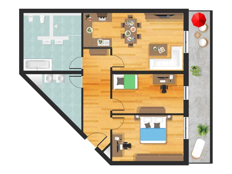 Wohnung in Straubing W18