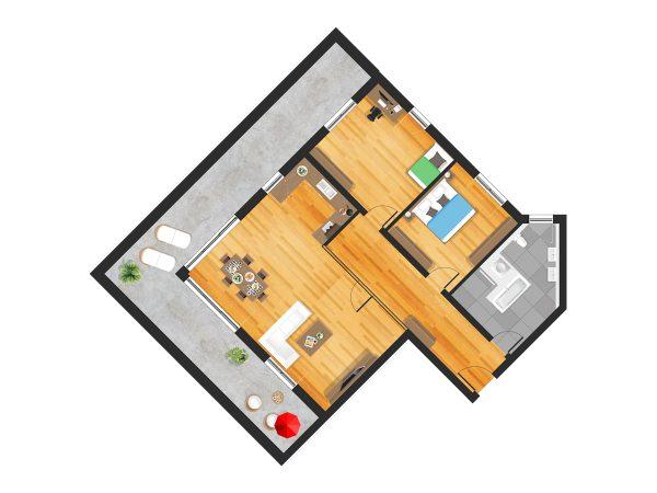Wohnung in Straubing W22