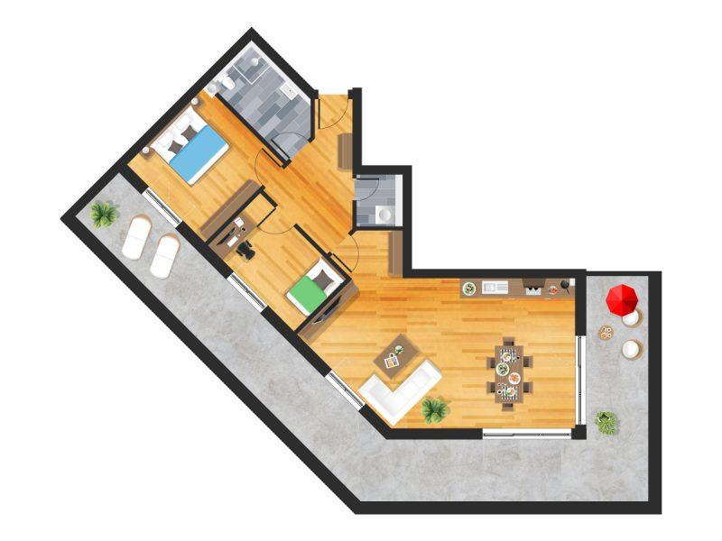 Wohnung in Straubing W23