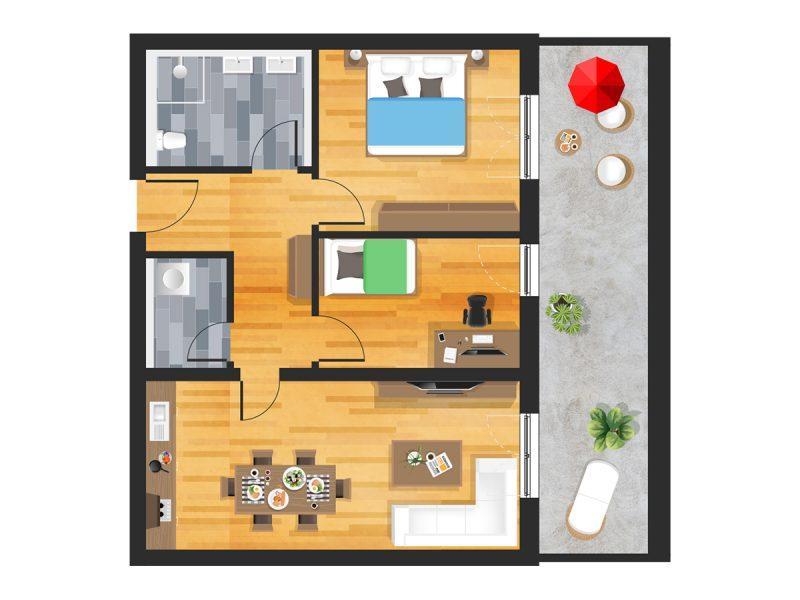 Wohnung in Straubing W25