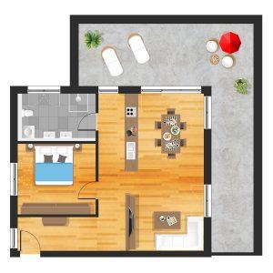 Wohnung in Straubing W26